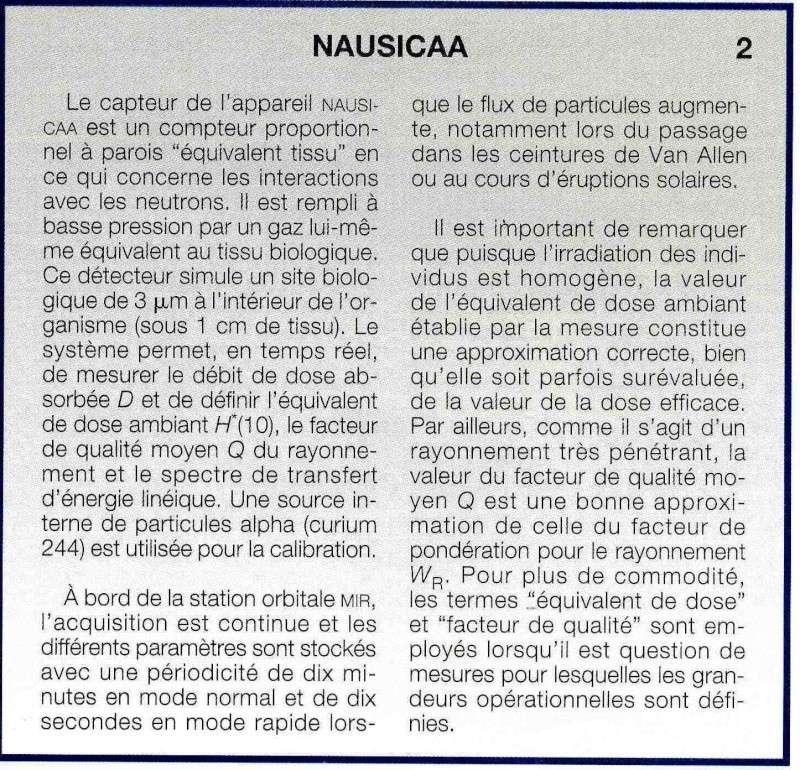 Dosimètres passifs et voyage en avion Nausic11