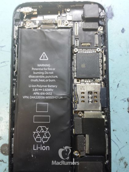 iPhone 5S Battery 616-0652 A37