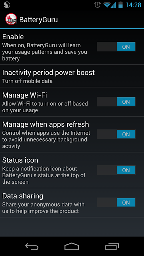 [SOFT] BatteryGuru for LG/S4/HTC ONE [Gratuit] Bat310