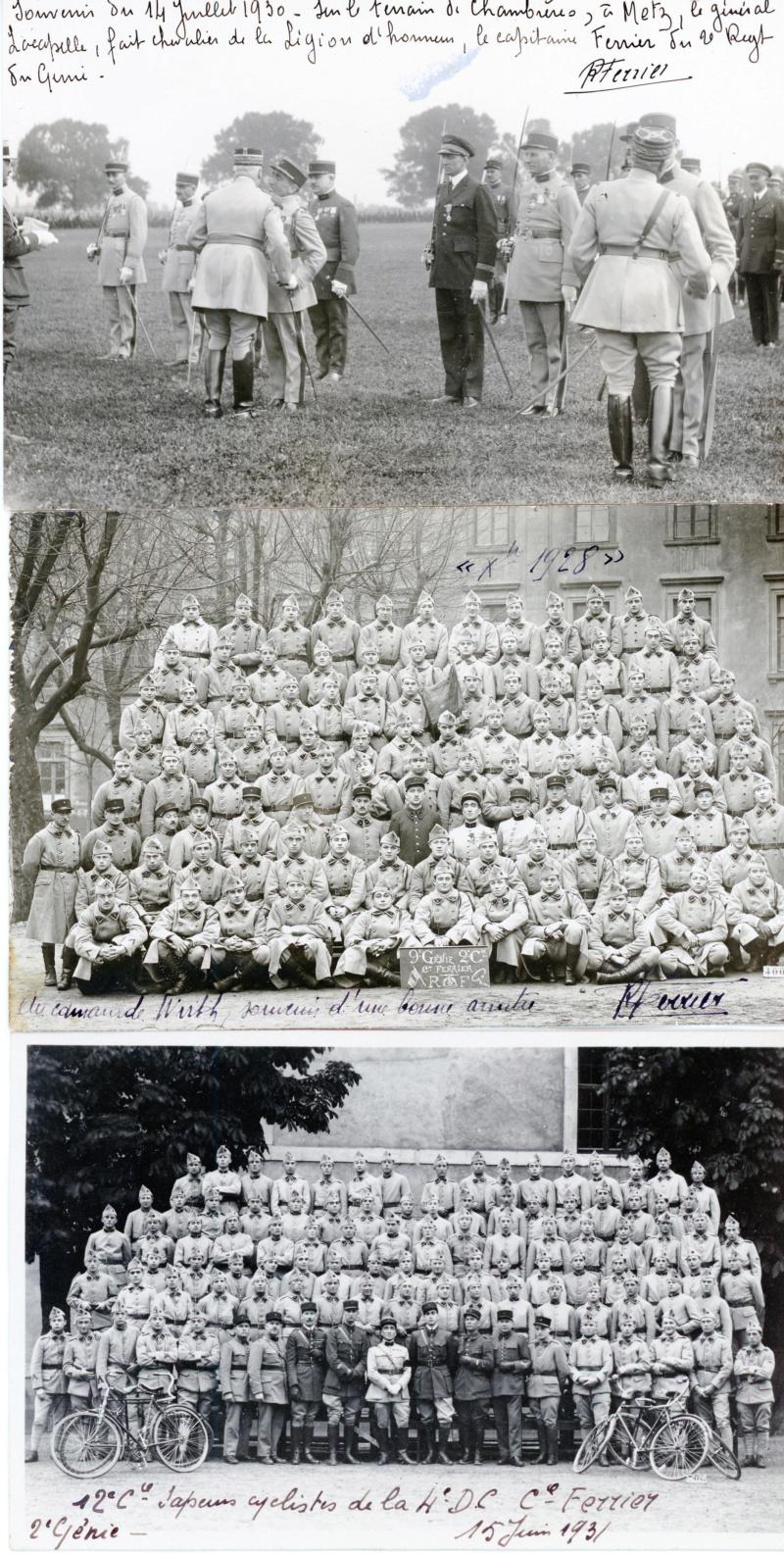 Belles carte-photos du 2ème et 9ème génie vers 1930 -ALPINS-AOUT5 2genie11