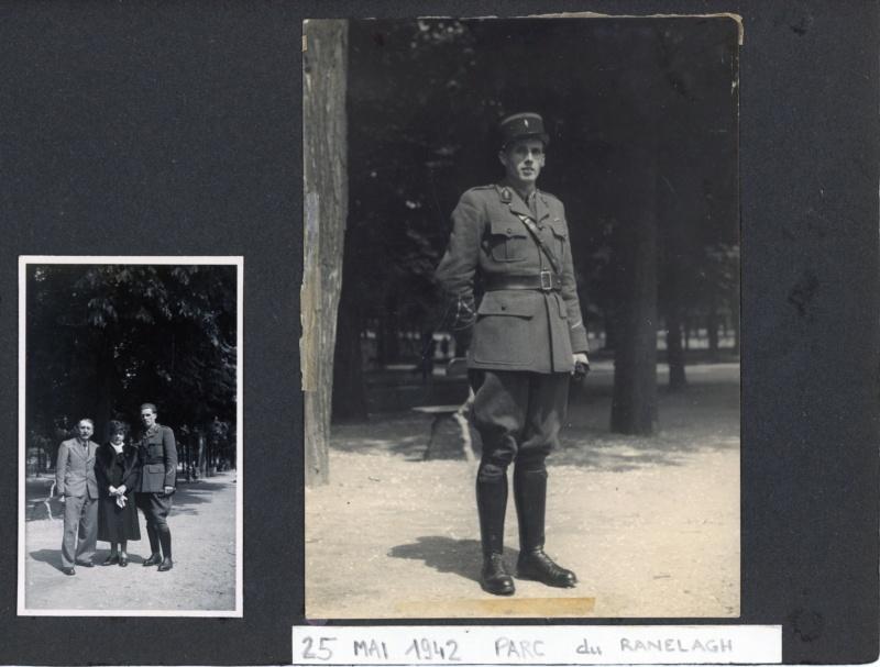 Petit lot de photos d'un gendarme de la 4° légion de gendarmerie 1940-42 ESC - SEPT 2 Vendu 5legio10