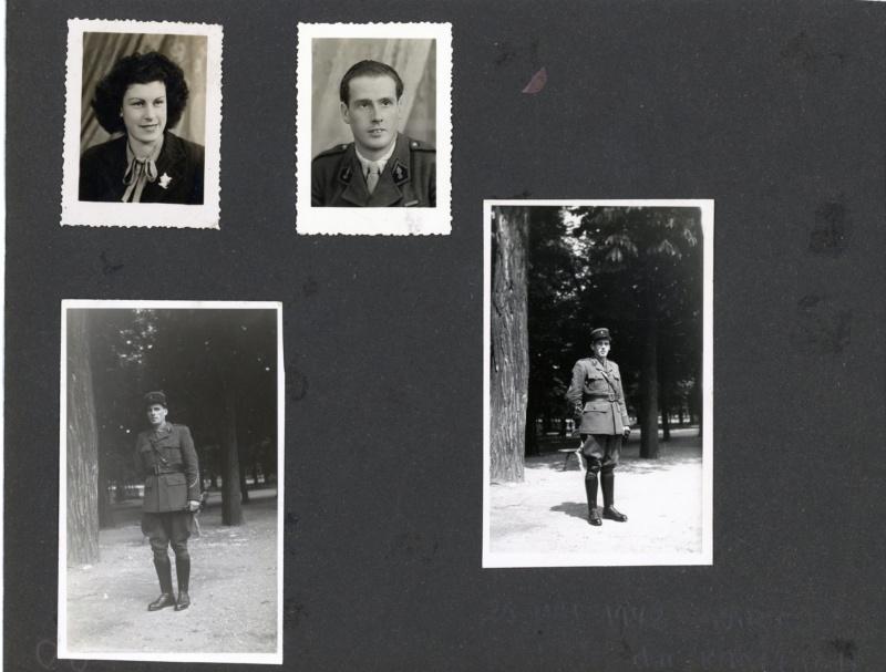 Petit lot de photos d'un gendarme de la 4° légion de gendarmerie 1940-42 ESC - SEPT 2 Vendu 5legio11