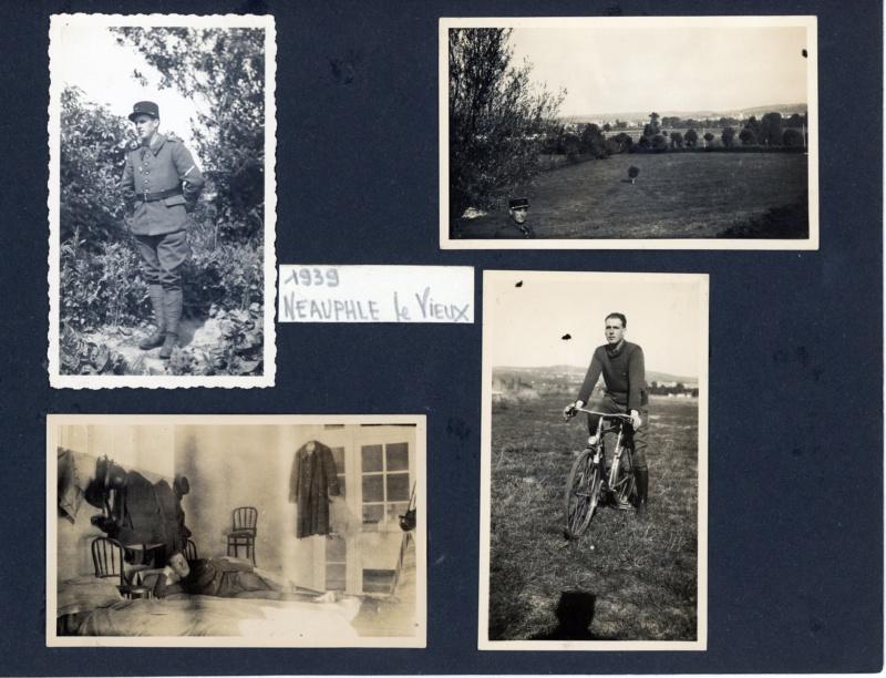 Petit lot de photos d'un gendarme de la 4° légion de gendarmerie 1940-42 ESC - SEPT 2 Vendu 5legio14