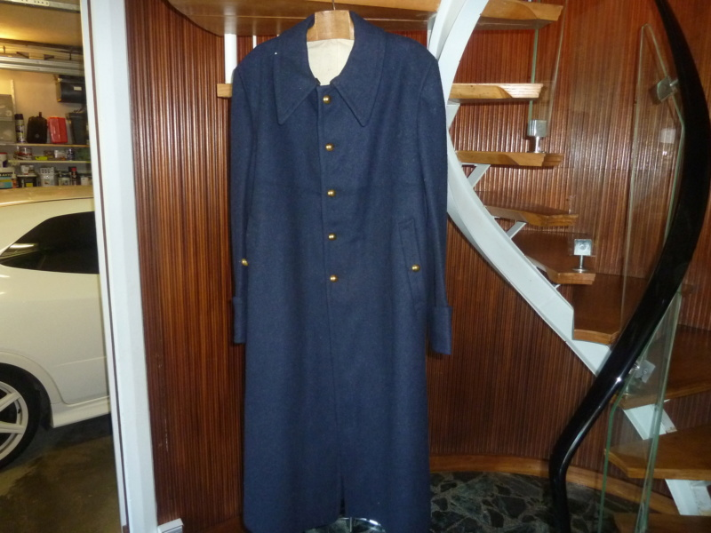 Manteau bleu GDFB inconnu ESC - OCT 1 VENDU P1100642