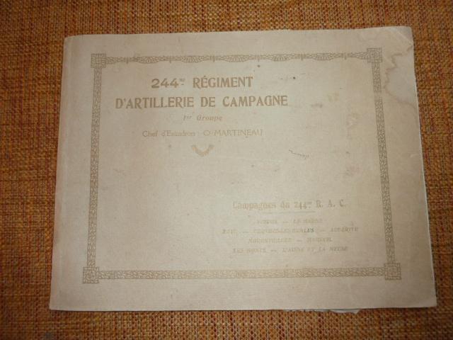 Livret Photographique 244 RAC 1er Groupe 14/18  P1100836