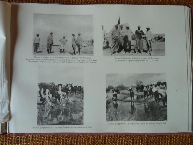 Sud Oranais 1908 2 albums Colonnes du Haut-Cuir. P1100940