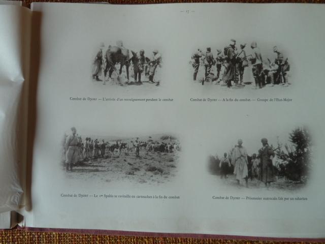 Sud Oranais 1908 2 albums Colonnes du Haut-Cuir. P1100942