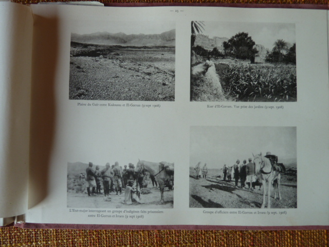 Sud Oranais 1908 2 albums Colonnes du Haut-Cuir. P1100943