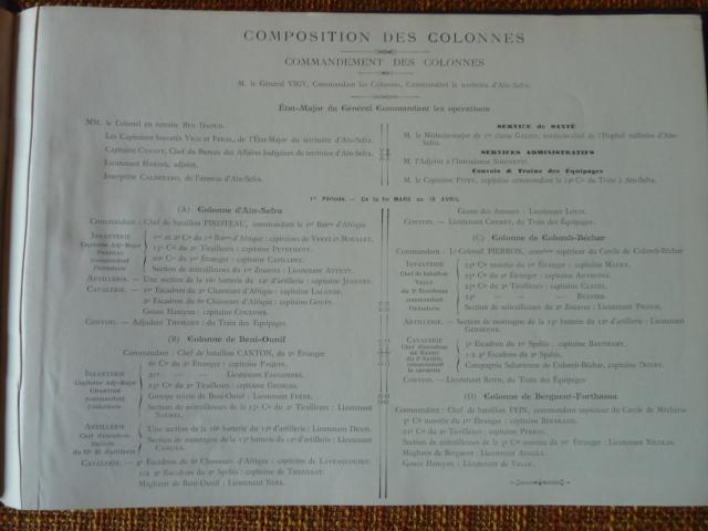 Sud Oranais 1908 2 albums Colonnes du Haut-Cuir. P1100944