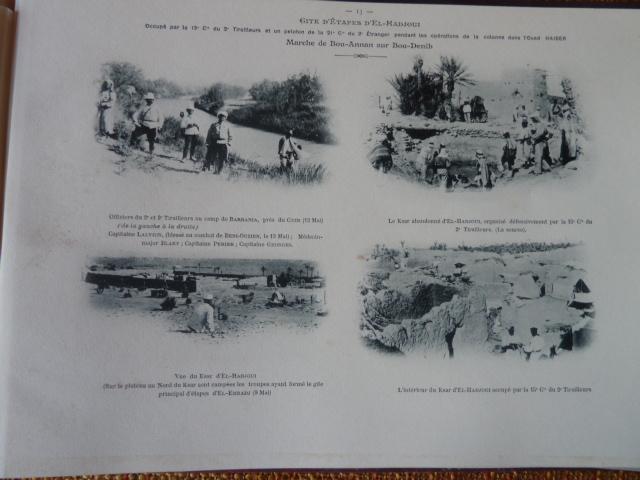 Sud Oranais 1908 2 albums Colonnes du Haut-Cuir. P1100945