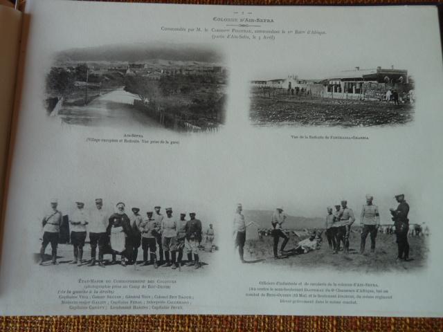 Sud Oranais 1908 2 albums Colonnes du Haut-Cuir. P1100946