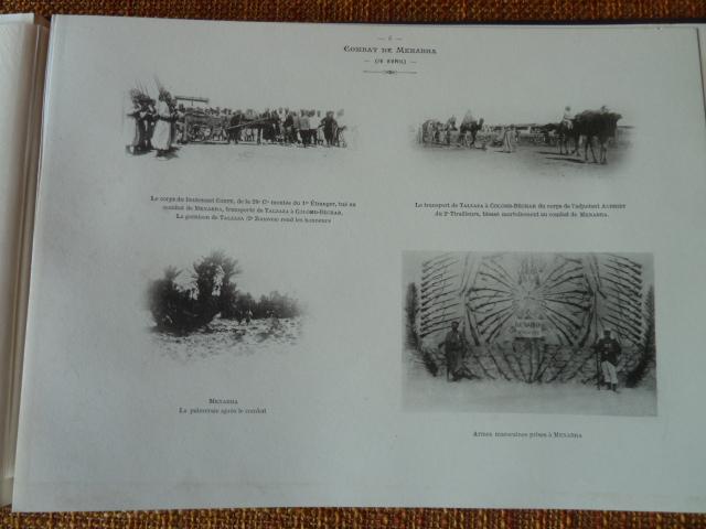 Sud Oranais 1908 2 albums Colonnes du Haut-Cuir. P1100947
