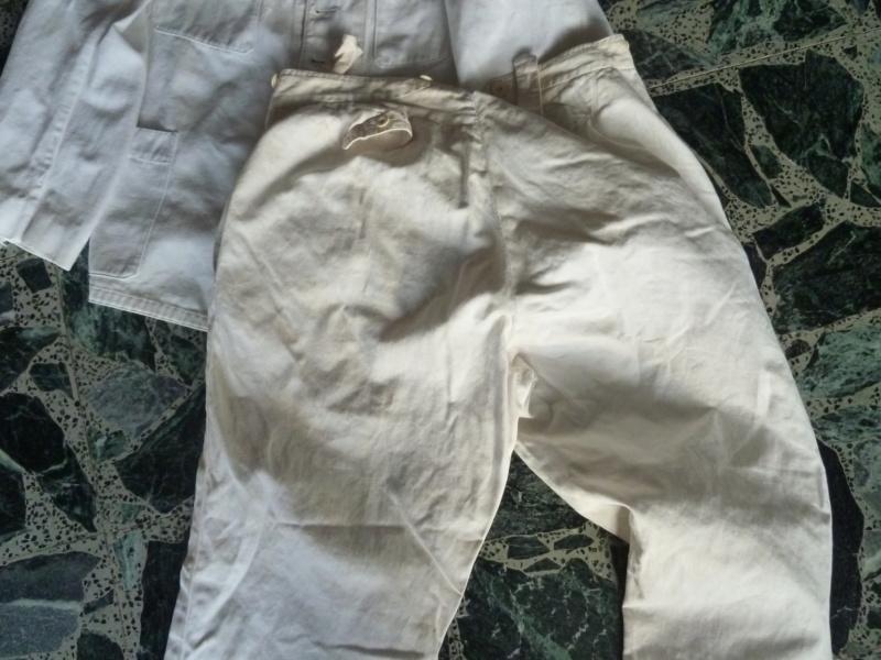 Tenue Coton Blanche Officier des Troupes coloniales 1900 ESC - JUIN 2  Vendue P1110722