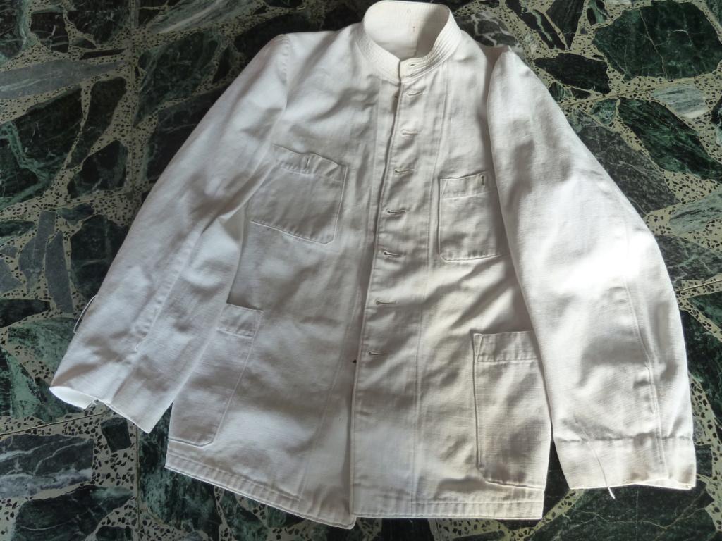 Tenue Coton Blanche Officier des Troupes coloniales 1900 ESC - JUIN 2  Vendue P1110725