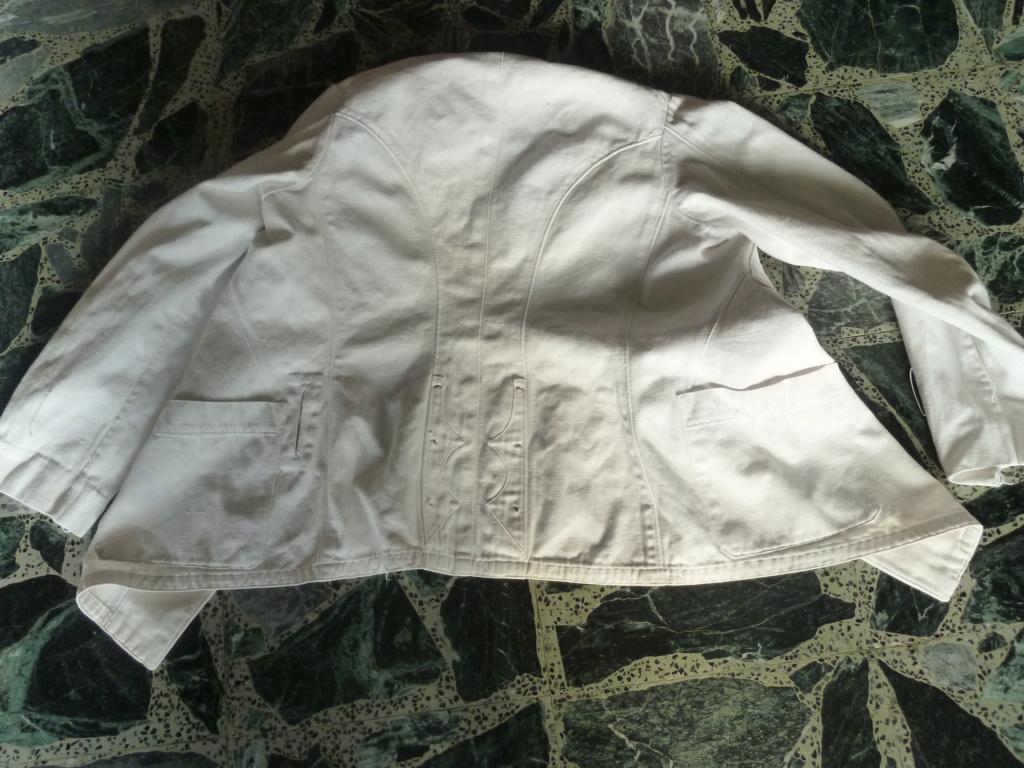 Tenue Coton Blanche Officier des Troupes coloniales 1900 ESC - JUIN 2  Vendue P1110727