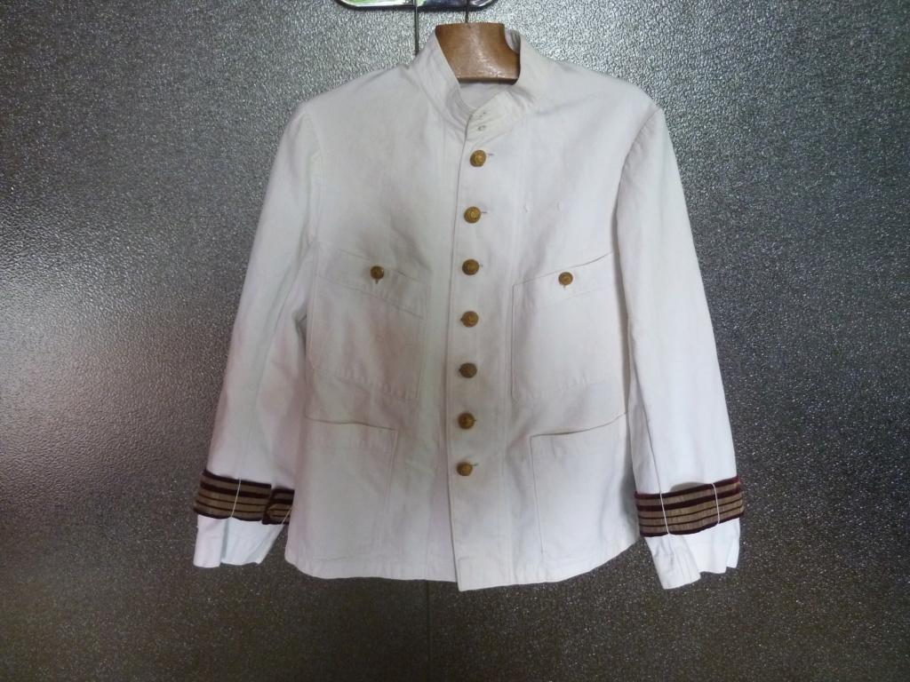 Tenue Coton Blanche Officier des Troupes coloniales 1900 ESC - JUIN 2  Vendue P1110810