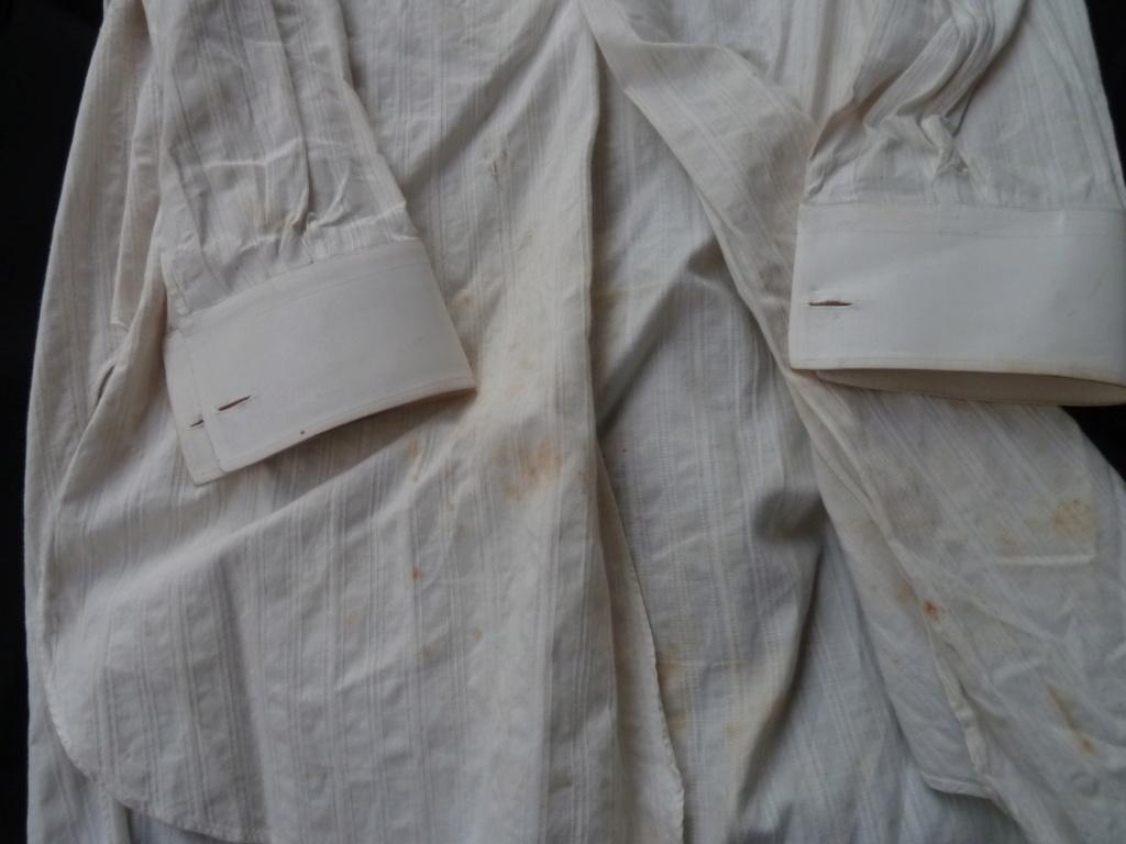Lot officier 1931 Bottines, cape et chemise  ESC - JUIL 5  et FIN POUR LE MOIS P1110959