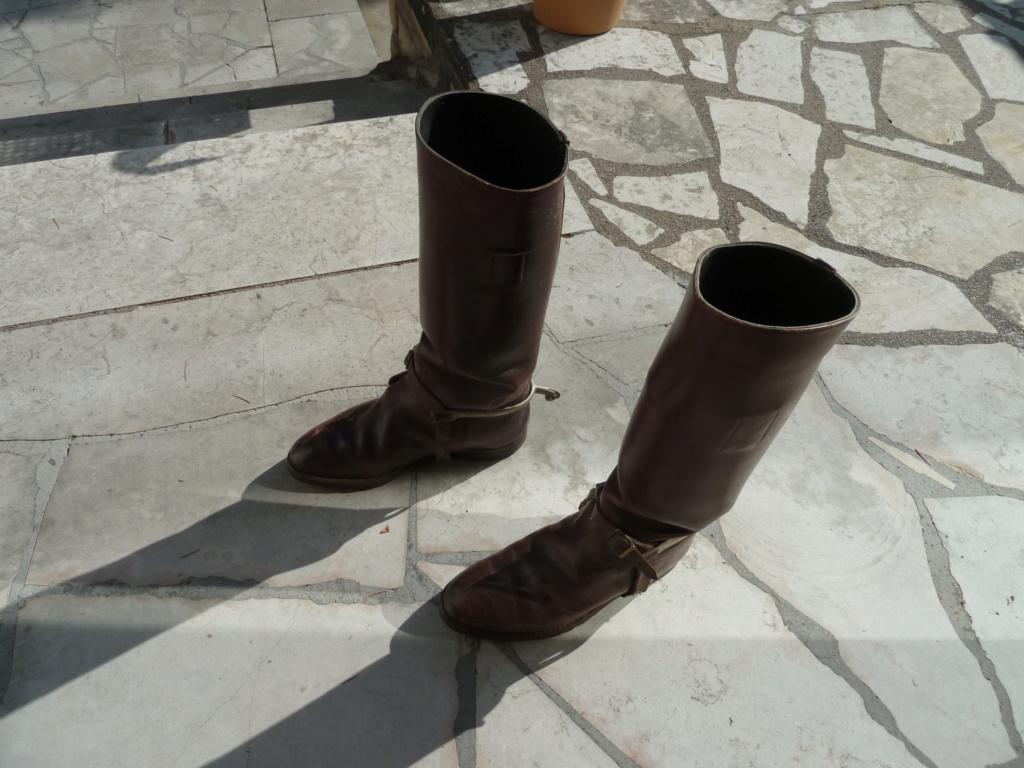 Paire de bottes de cavalerie pour officier français - PHILPENS - JUILLET 2 P1120110