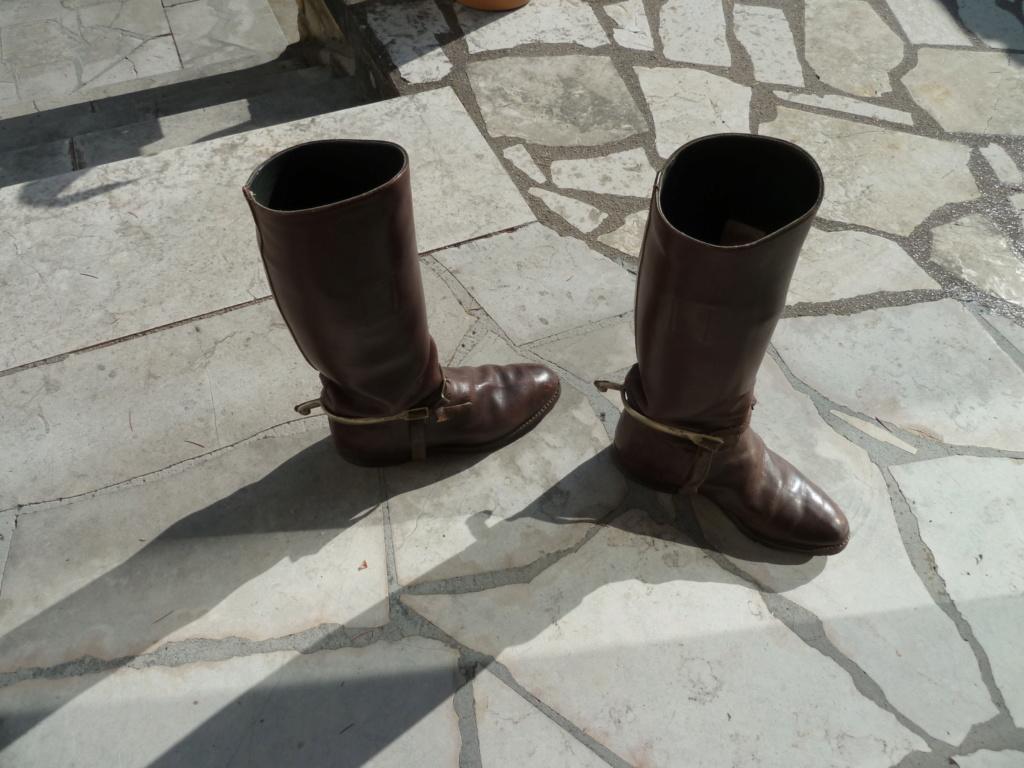 Paire de bottes de cavalerie pour officier français - PHILPENS - JUILLET 2 P1120111
