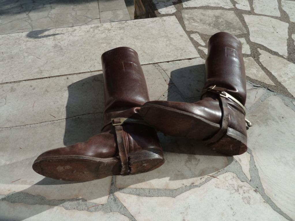 Paire de bottes de cavalerie pour officier français - PHILPENS - JUILLET 2 P1120112