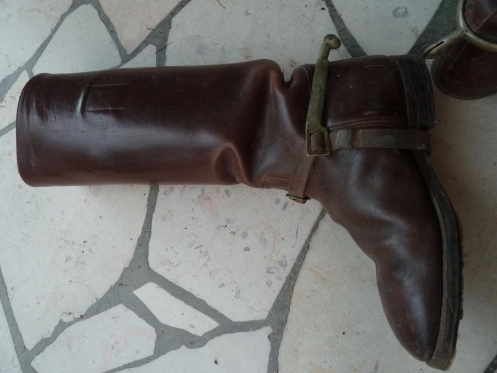 Paire de bottes de cavalerie pour officier français - PHILPENS - JUILLET 2 P1120114