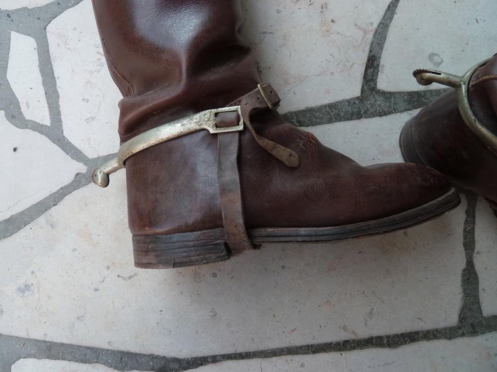 Paire de bottes de cavalerie pour officier français - PHILPENS - JUILLET 2 P1120115