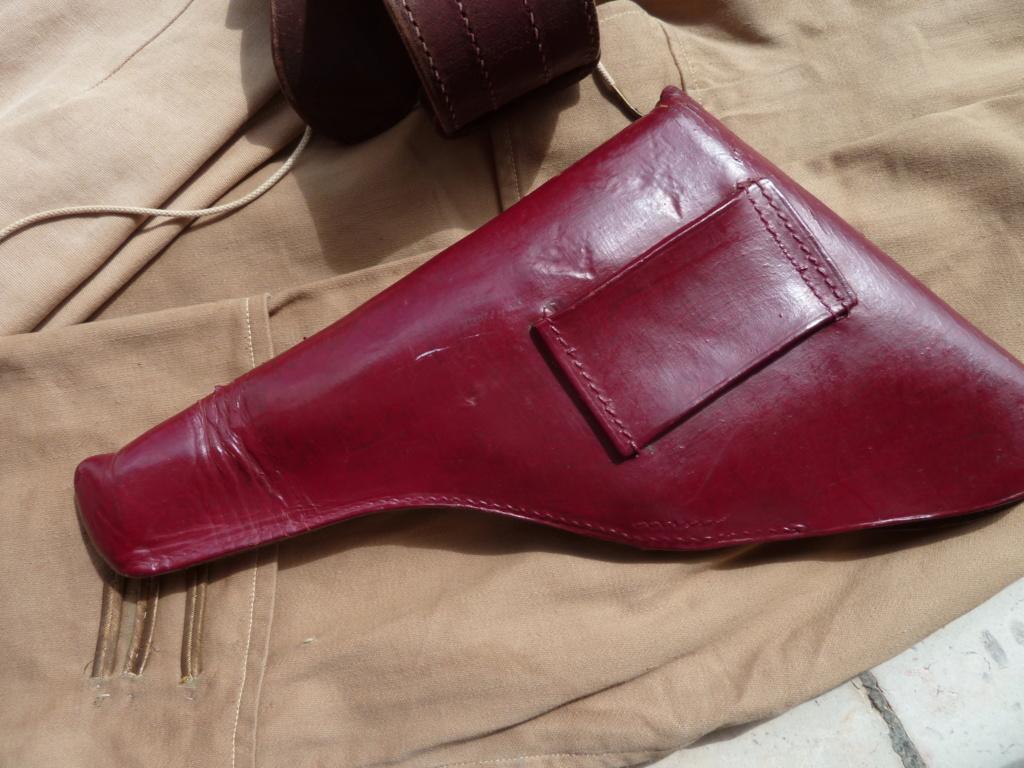 Ensemble toile médecin Guerre RIF Vareuse 29, Képi, culotte et accessoires ESC - JUIL 3 Finie P1120128