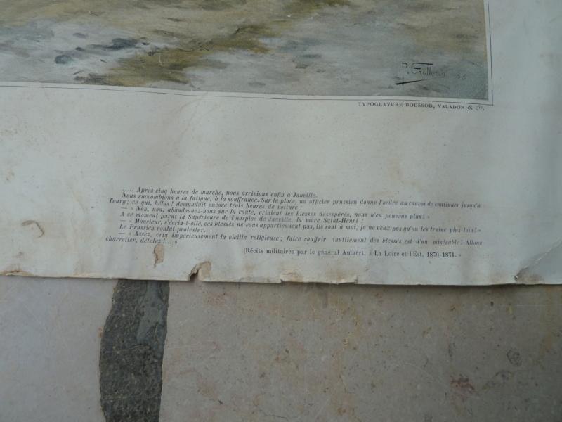 Affiche typogravure Janville  Eure et loire 1870 ESC - AOUT 1 A Clôturer  P1120338