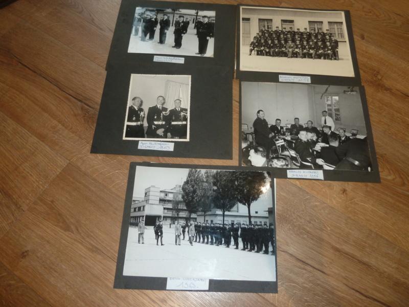 Lot de clichés Gendarmerie années 50 remise de décorations 1956 Camp de Drancy 1963  ESC - NOV 1 P1120713