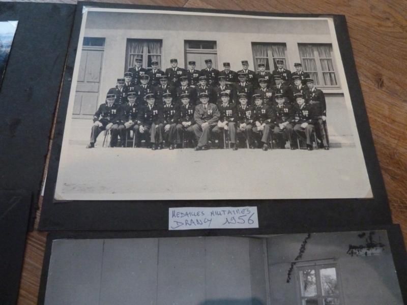 Lot de clichés Gendarmerie années 50 remise de décorations 1956 Camp de Drancy 1963  ESC - NOV 1 P1120714