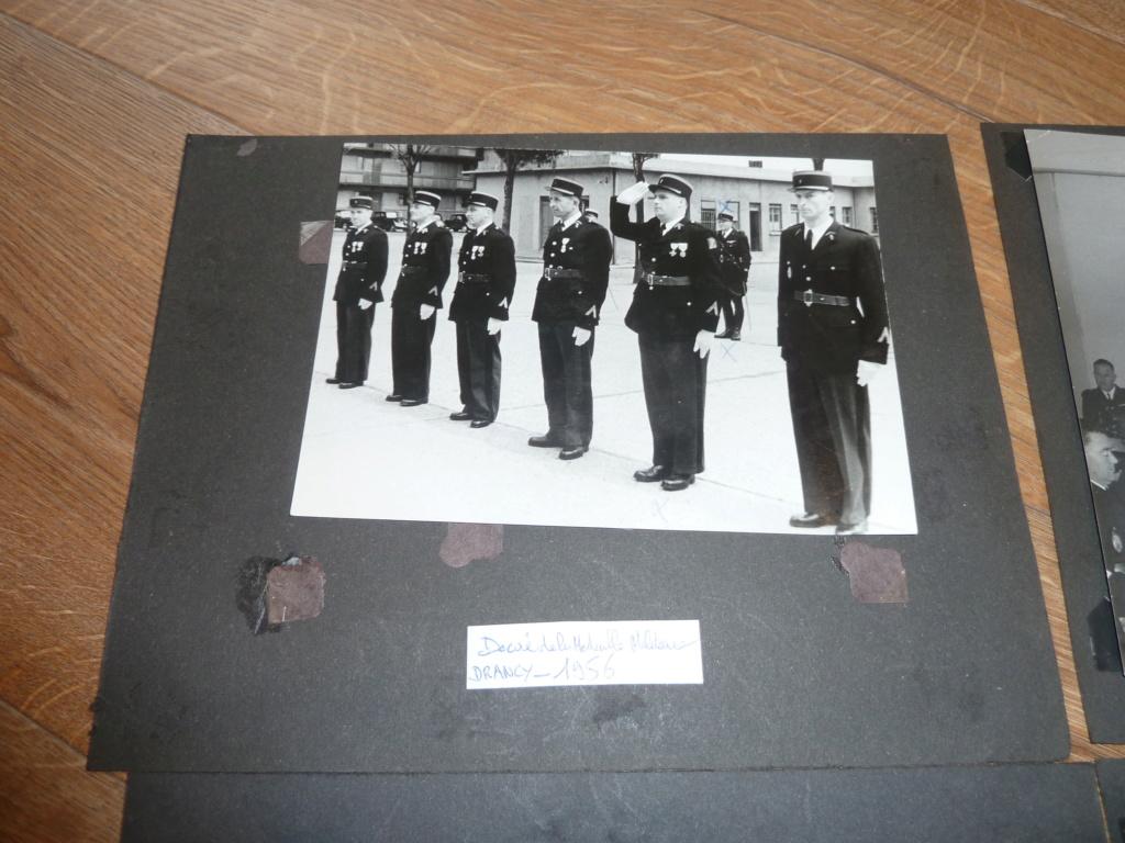 Lot de clichés Gendarmerie années 50 remise de décorations 1956 Camp de Drancy 1963  ESC - NOV 1 P1120716