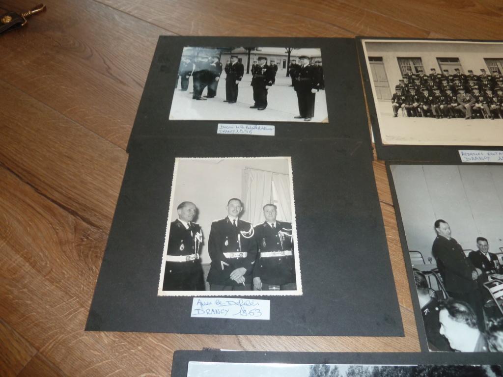 Lot de clichés Gendarmerie années 50 remise de décorations 1956 Camp de Drancy 1963  ESC - NOV 1 P1120717