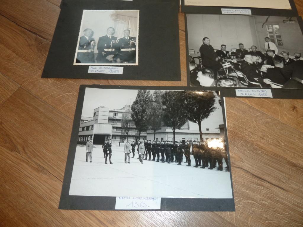 Lot de clichés Gendarmerie années 50 remise de décorations 1956 Camp de Drancy 1963  ESC - NOV 1 P1120718