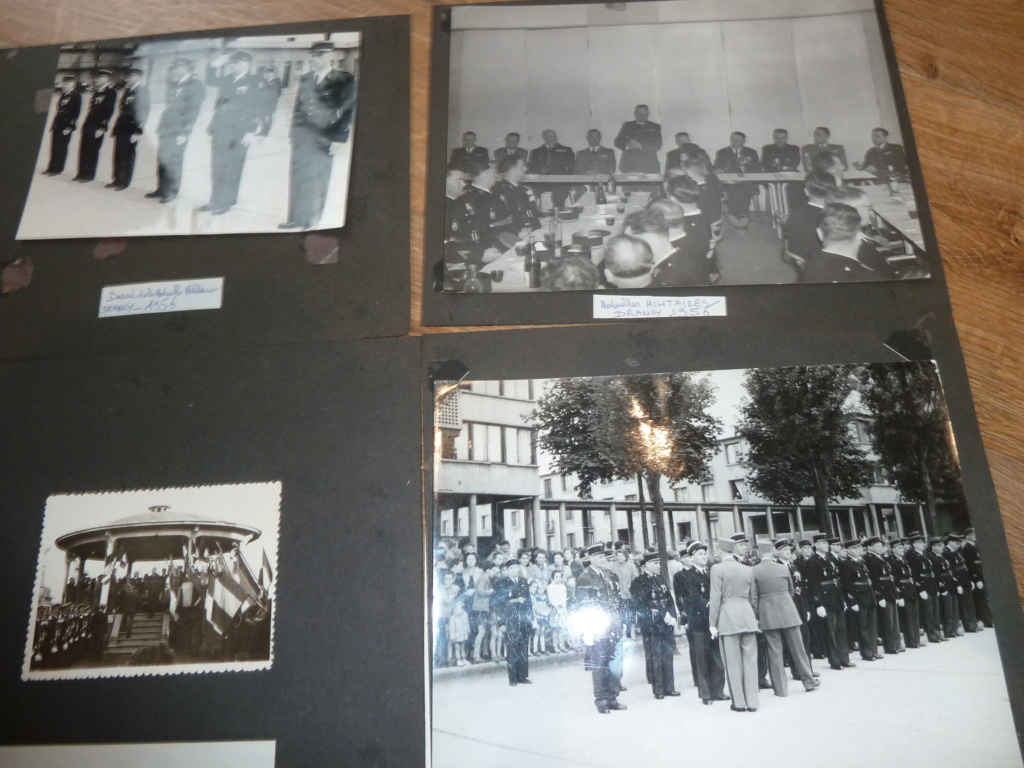 Lot de clichés Gendarmerie années 50 remise de décorations 1956 Camp de Drancy 1963  ESC - NOV 1 P1120719