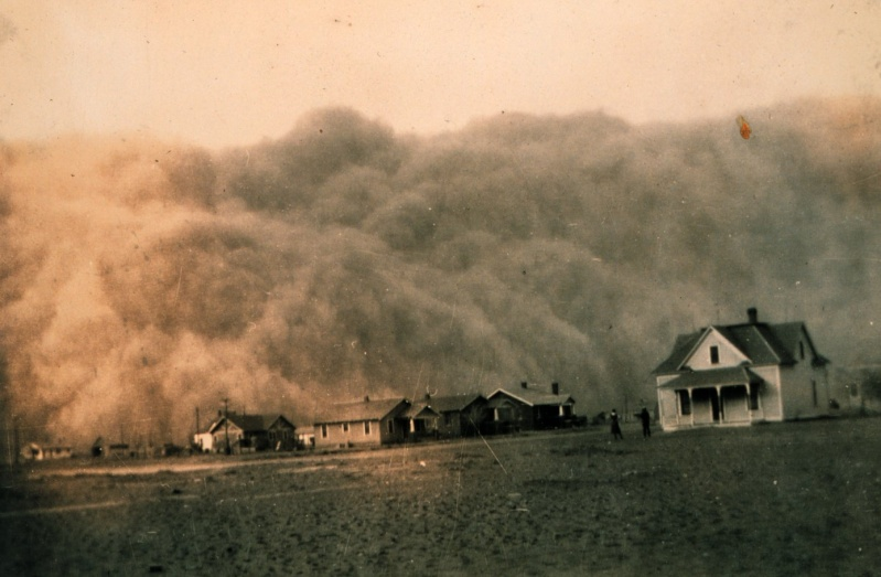 La jachère pour lutter contre la sécheresse et les effets du vent (Etats-Unis) Dust10
