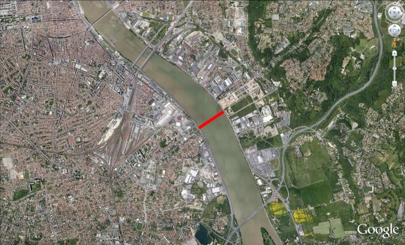 ( Bientot visible sur Google Earth ) Pont Simone Veil Bordeaux France Pont10