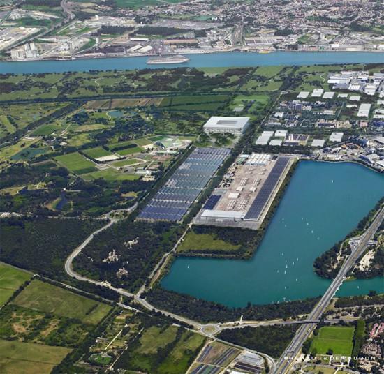 [Enfin visible sur Google Earth] - Le grand stade de Bordeaux MATMUT - France Stade110