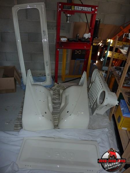 Restauration CJ7 Laredo D alias Maïté - Page 39 P1100710