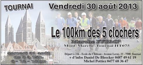 100 km des 5 clochers ; Tournai (B): 30-31 août 2013 100km_10