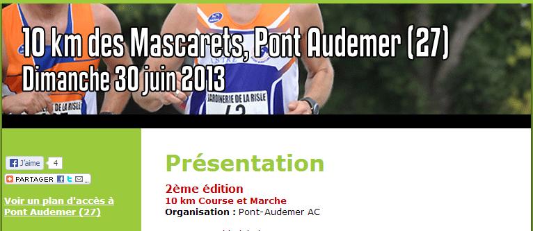 10 km des Mascarets, Pont Audemer (27): 30 juin 2013 10km_d10