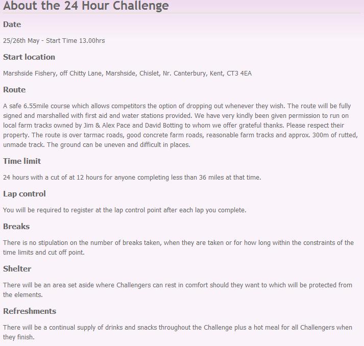 24h Challenge, Canterbury (GB): 25-26 mai 2013 24_hou10