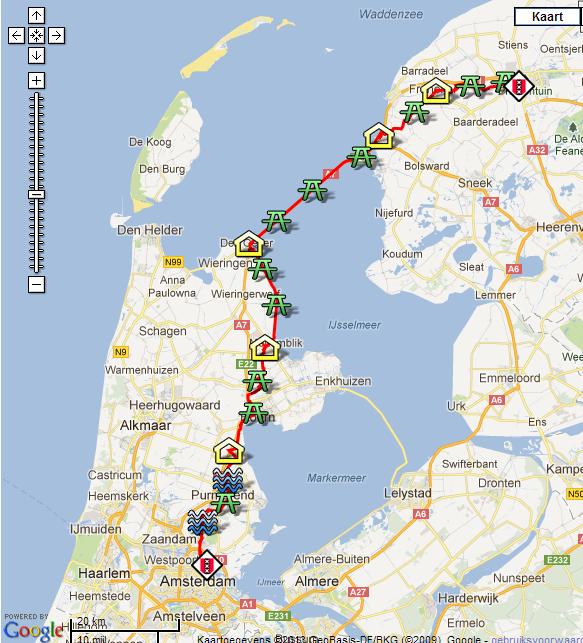 Amsterdam-Leeuwarden; 150km en ligne: 21-22 juin 2014 Ams-le10