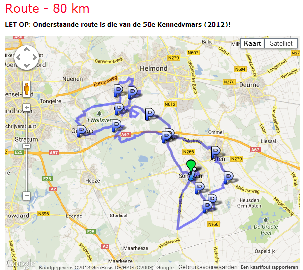 Marche Kennedy (80km) de Someren (NL): 6-7 juillet 2013 Kenned12