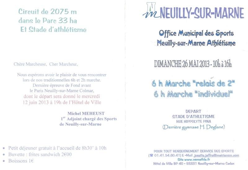 6 heures et 2 heures de Neuilly sur Marne: 26 mai 2013 Numari10