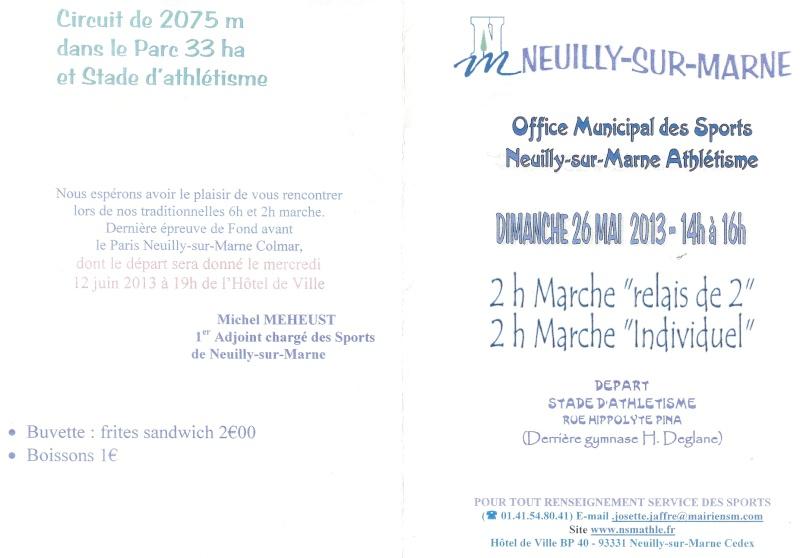 6 heures et 2 heures de Neuilly sur Marne: 26 mai 2013 Numari12