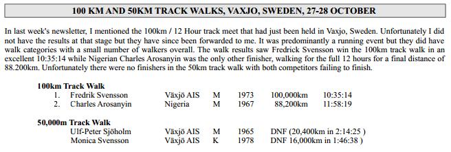 100 km piste à Vaxjo (Suède): 27/10/2012 Vaxja_10