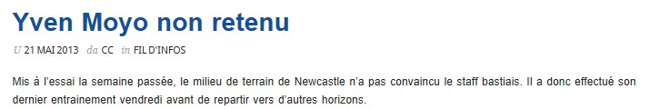 Ligue 1 : Mercato saison 2013-2014 S74