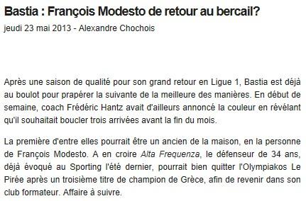 Ligue 1 : Mercato saison 2013-2014 S78