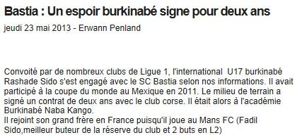 Ligue 1 : Mercato saison 2013-2014 S79