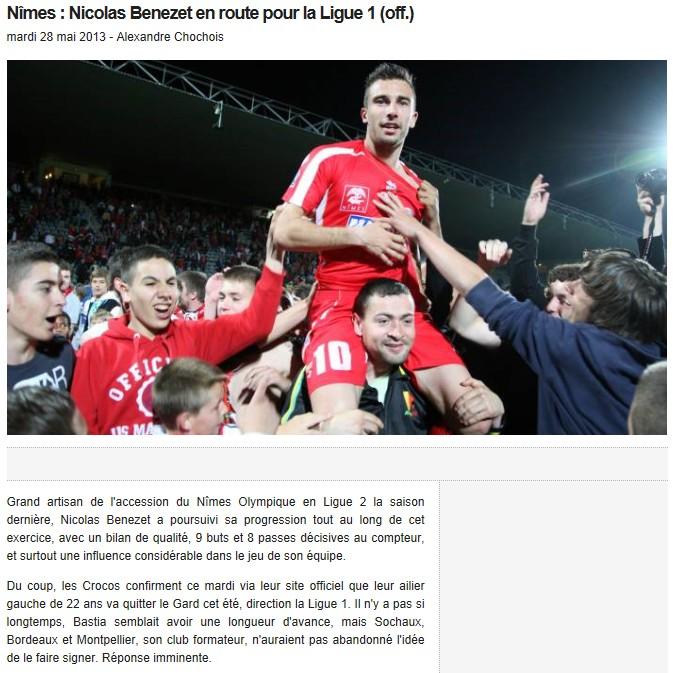 Ligue 1 : Mercato saison 2013-2014 S85